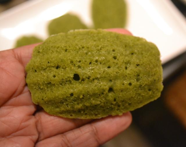 Green Tea Madelines