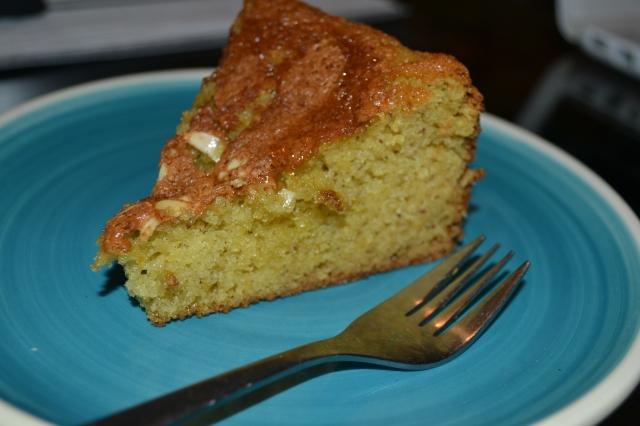 Almond & Cardamom Cake