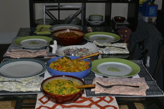 Dinner is ready